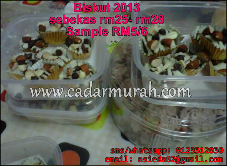 sample kuih raya 2013 2