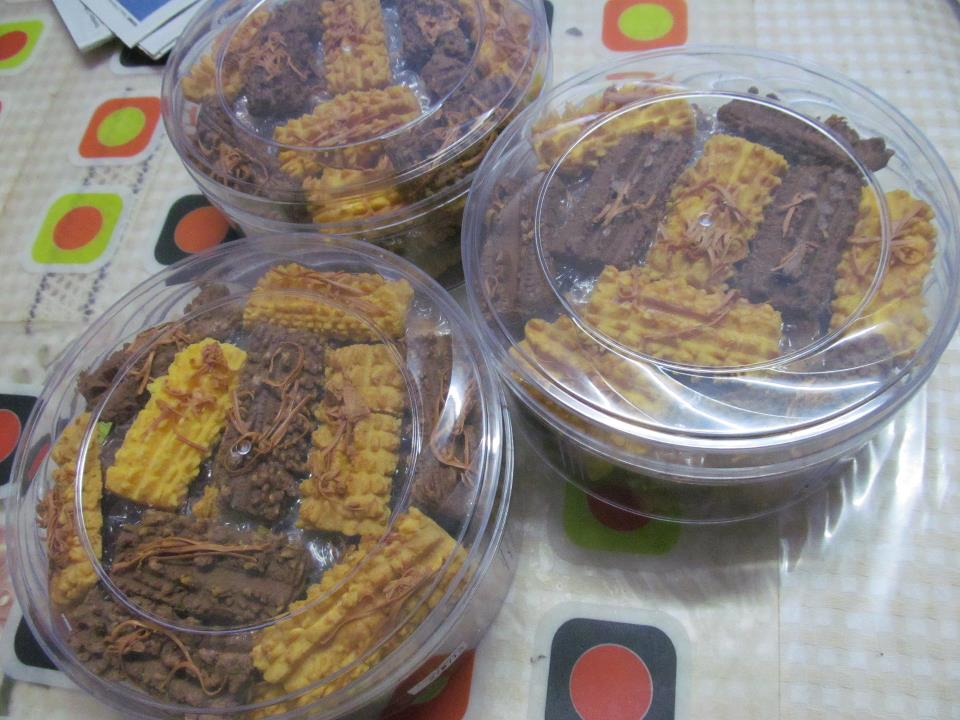 biskut samprit cheese coklat
