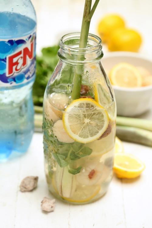 Resepi Air soda herbs