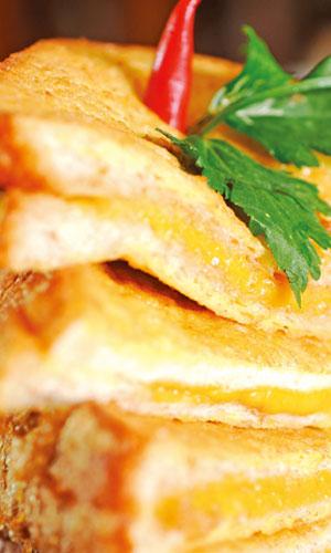 sandwich berkeju bbq yummyyy asap dapur Resepi Nasi Minyak Melaka Enak dan Mudah